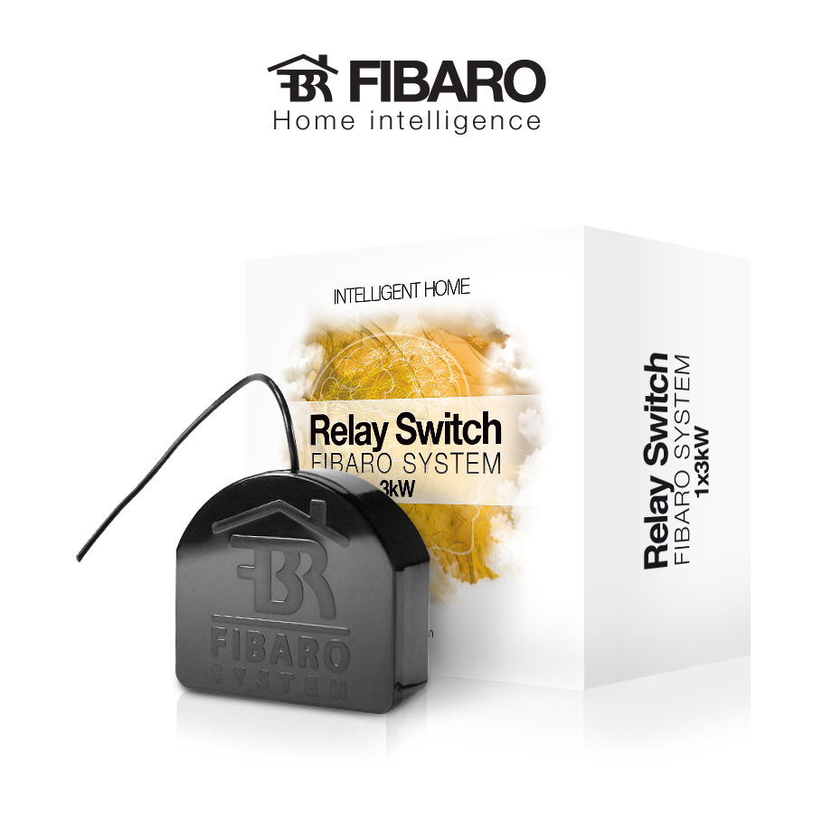 Z Wave Product Catalog Fibaro Relay Switch