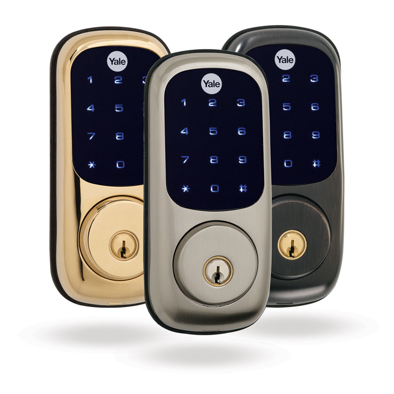 Z Wave Product Catalog Yale Real Living Touchscreen Deadbolt