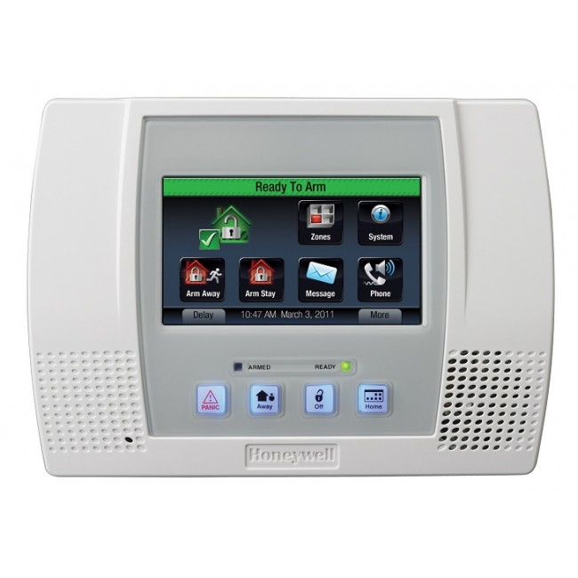 Z Wave Product Catalog Honeywell Lynx Touch L5100