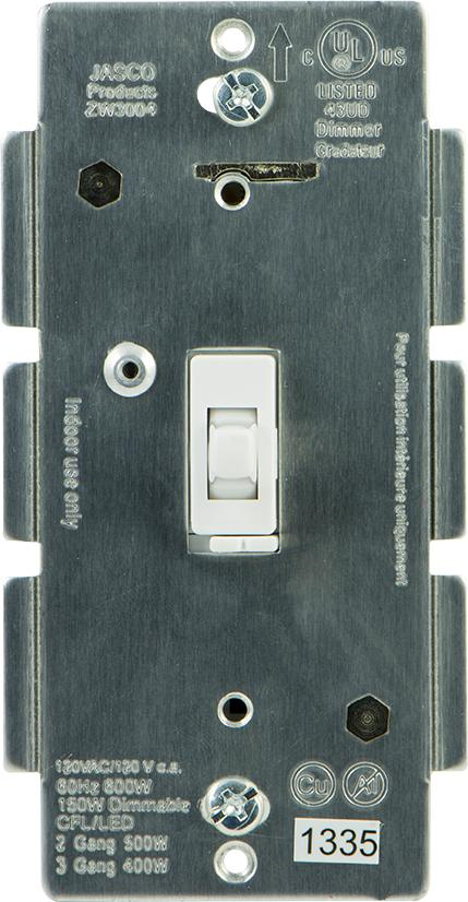 z wave product catalog ge in wall switch zw4001. Black Bedroom Furniture Sets. Home Design Ideas