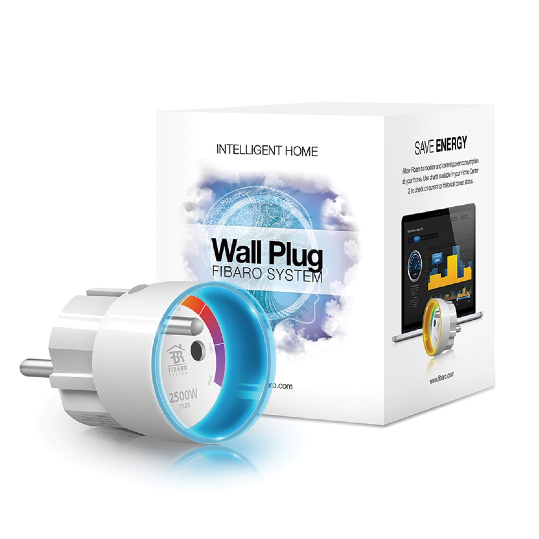 Z Wave Product Catalog Fibaro Wall Plug
