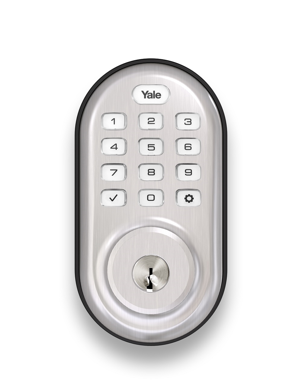 Z Wave Product Catalog Yale Real Living Push Button
