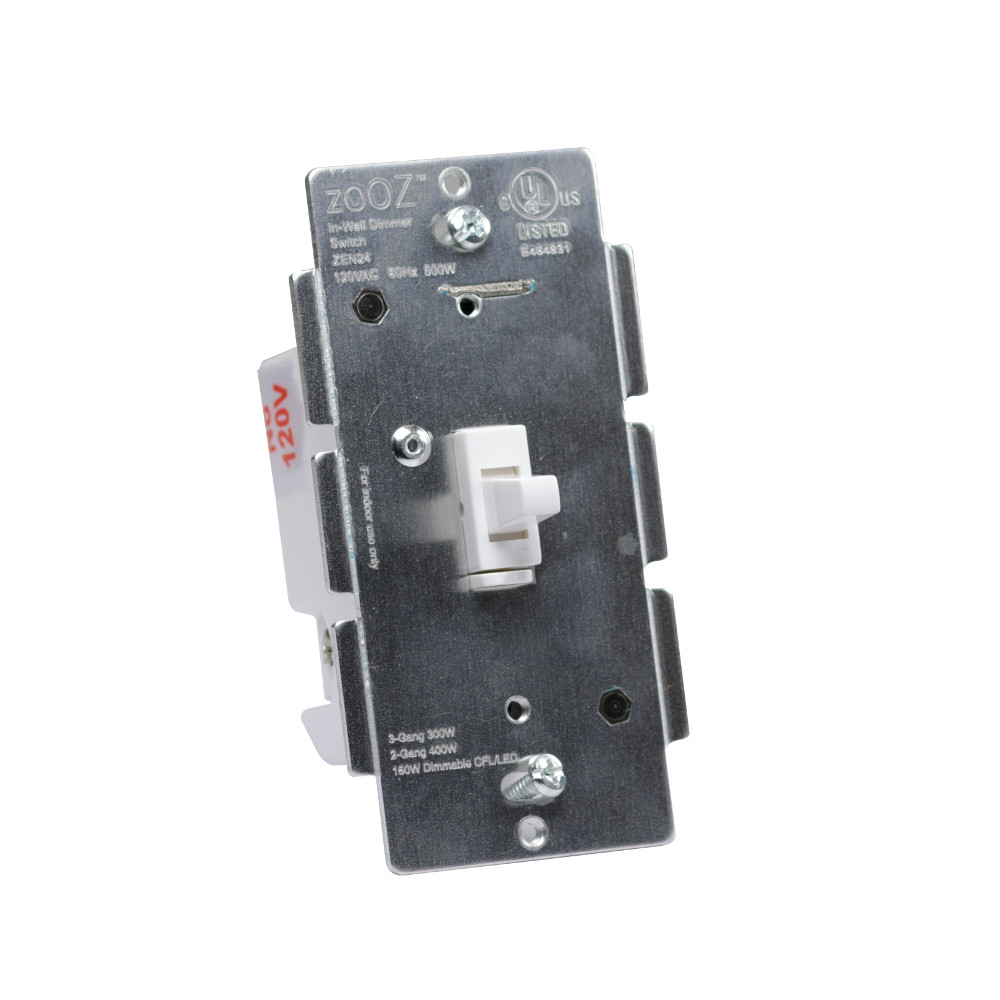 Z Wave Product Catalog Zooz Z Wave Plus Toggle Dimmer Switch