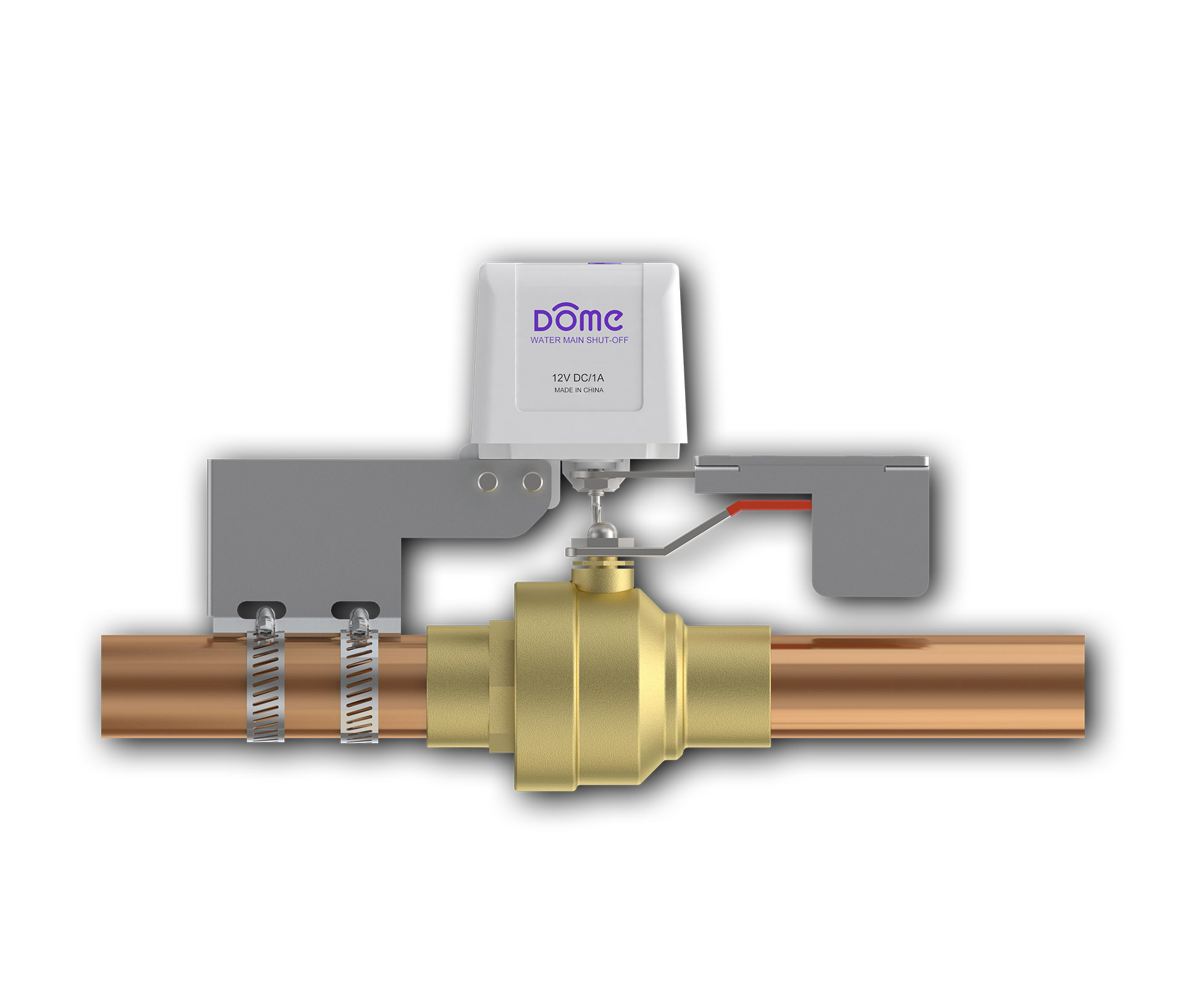 how to turn off main water valve