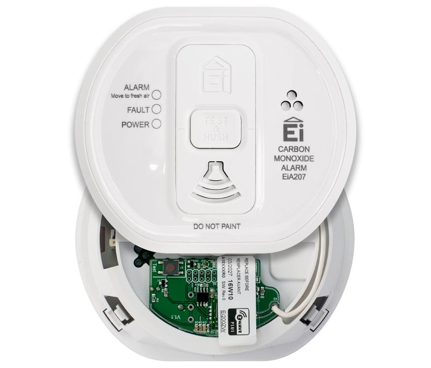 Z-Wave Product Catalog - Z-Wave Smoke/Heat Alarm